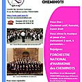 Recrutement - orchestre national d'harmonie des cheminots