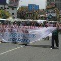 La Paz, manif