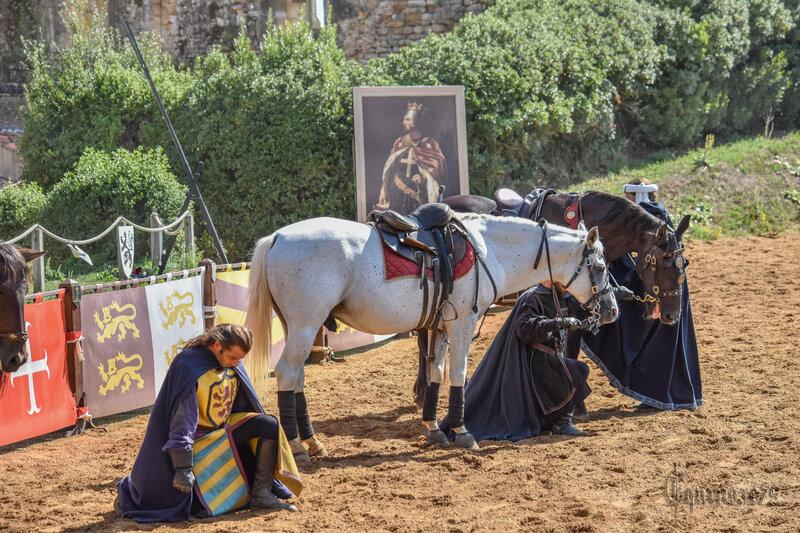 Château de Talmont – Guillaume de Lezay - Guillaume IX- Hugues VII de Lusignan - Louis VII et Aliénor d'Aquitaine (Time Travel) (1)
