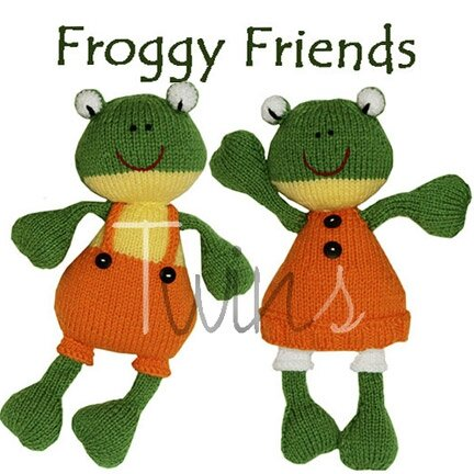 Traduction Froggy Friends - Twins