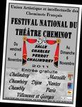 Affiche Festival national de theatre