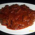 Kamounia (foie en sauce au cumin)