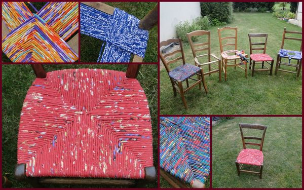 Atelier chaise chez Minou