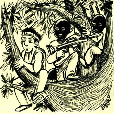 038- Les Corses de l'arbre