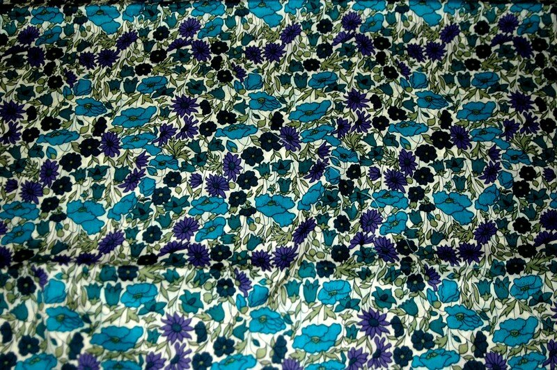 poppy & daisy turquoise