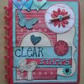 Carnet clear stamps