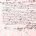Le 13 janvier 1791 à mamers : contribution foncière.