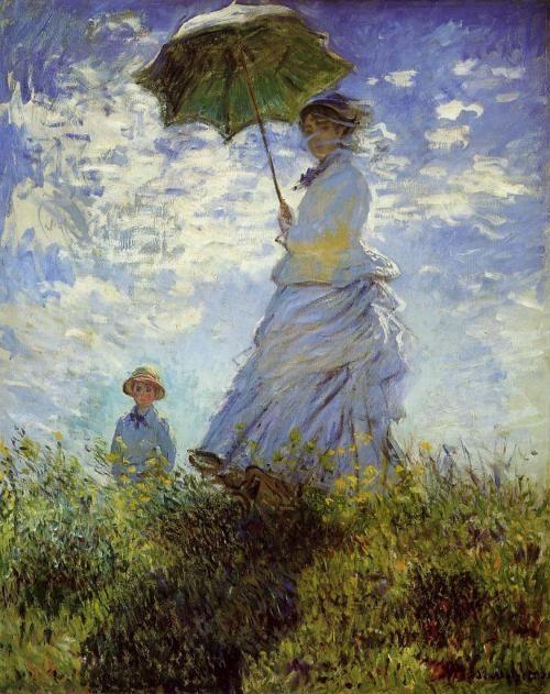 Claude_Monet_La_Promenade_la_femme___l_ombrelle