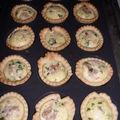 Tartelettes au thon