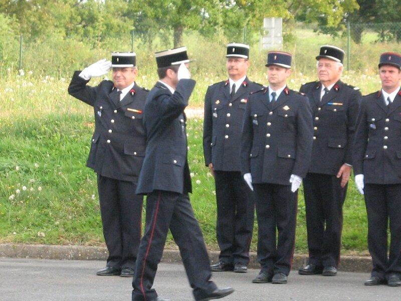 Prise de commandement du Sergent Philippe GUILLAUMIN le 01.10.2010