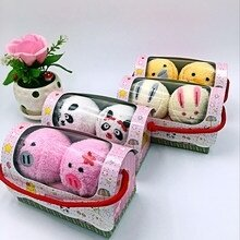 jeu-Styles-Cute-Animal-Compressed-Travel-Towel-Set-Gift-Set-With-Embroidery-Cotton-Panda-Pig-Towels_jpg_220x220q90