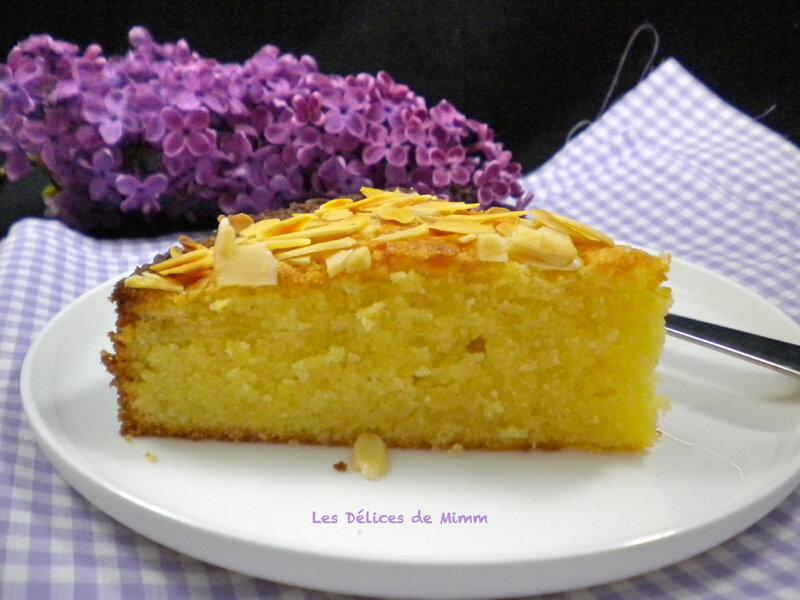 Gâteau fondant aux amandes remake 2018