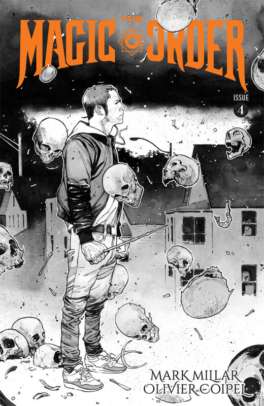 image the magic order 04 coipel b&w variant