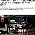 Lille, ville où prospèrent les réseaux de prostitution de mineures
