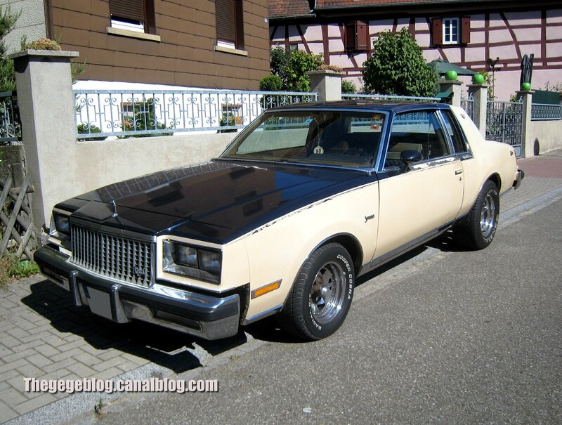 Buick regal somerset limited de 1981 01