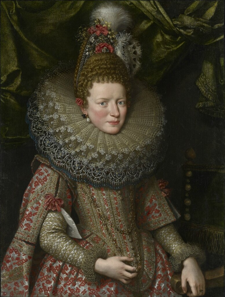 Frans Pourbus the Younger (1569 – 1622), Margherita Gonzaga, Duchess of Lorraine (1591 – 1632)