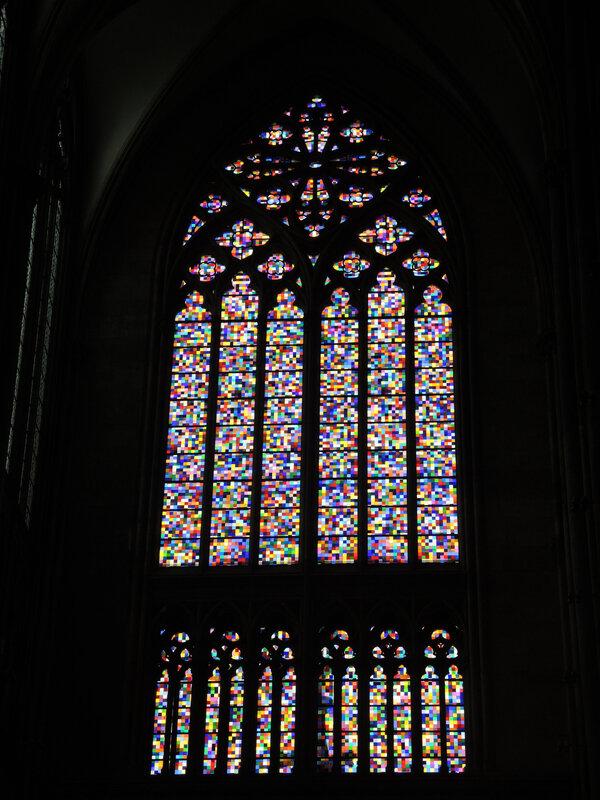 Cologne, cathédrale, vitraux (Allemagne)