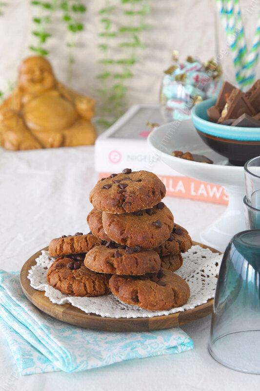 cookies au beurre de cacahuete Nigella Lawson 000001 LE MIAM MIAM BLOG