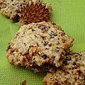 Cookies aux noisettes caramélisées