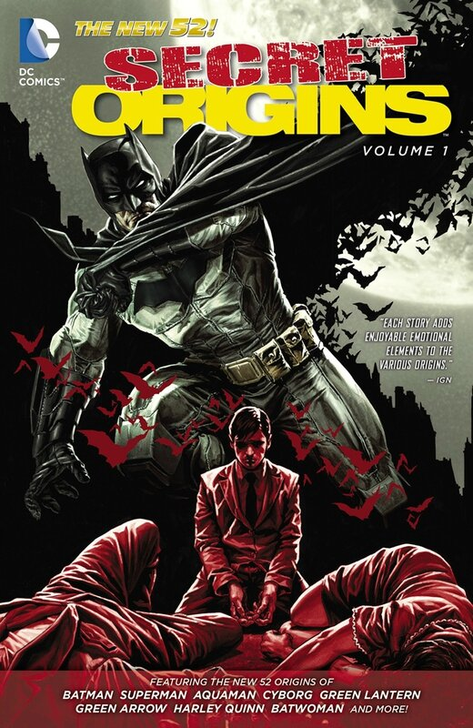 secret origins vol 1 TP