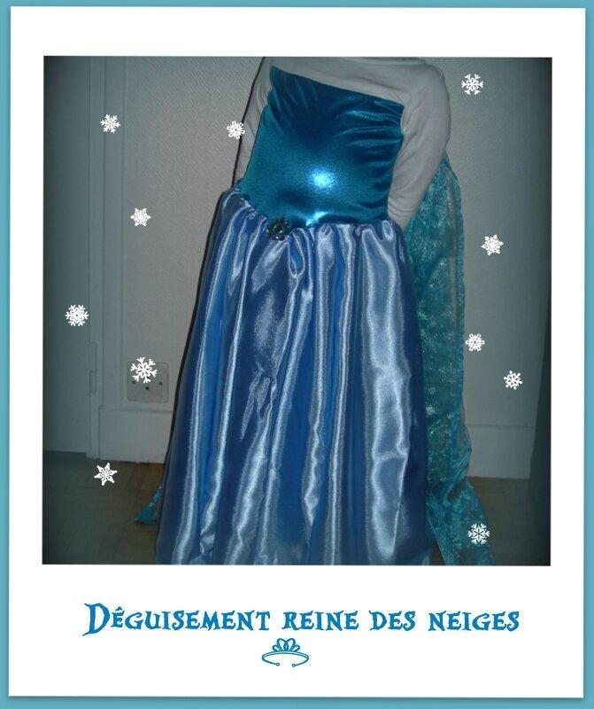 Déguisement Elsa Reine des neiges...