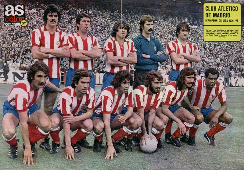 athlétic madrid (1976-1977)