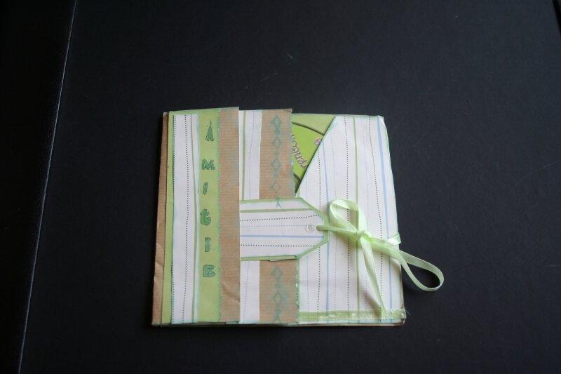 magnifique porte CD offert par Henriette pour y mettre nos souvenirs de Bailleuil, merci ma belle