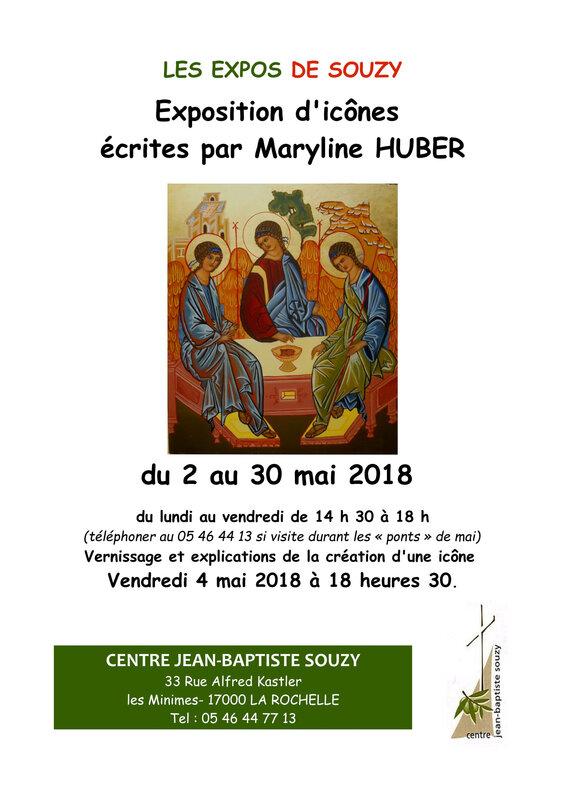 l'affiche pour le centre Jean-Baptiste Souzy
