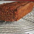 Cake chocolat banane demie- séchée gingembre éclats de chocolat fleur de sel de pierre hermé