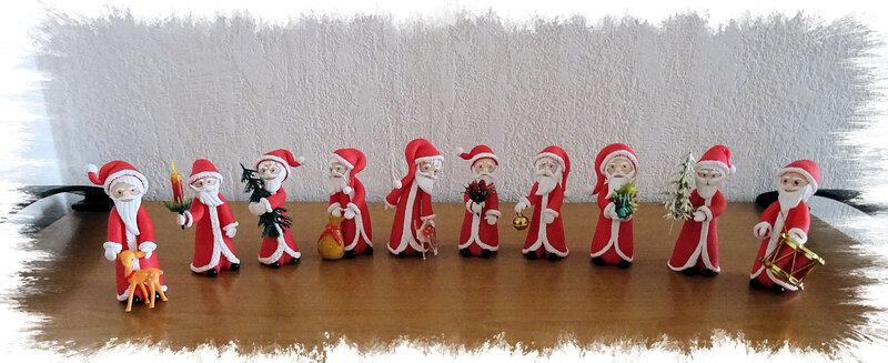 Armée de pères Noël