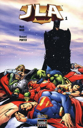 semic book JLA 01