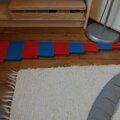 4a barres rouges et bleues