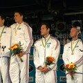 Podium Championnat du monde Karlovi vary (rep tchèque)