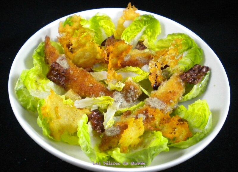 Salade César très croustillante