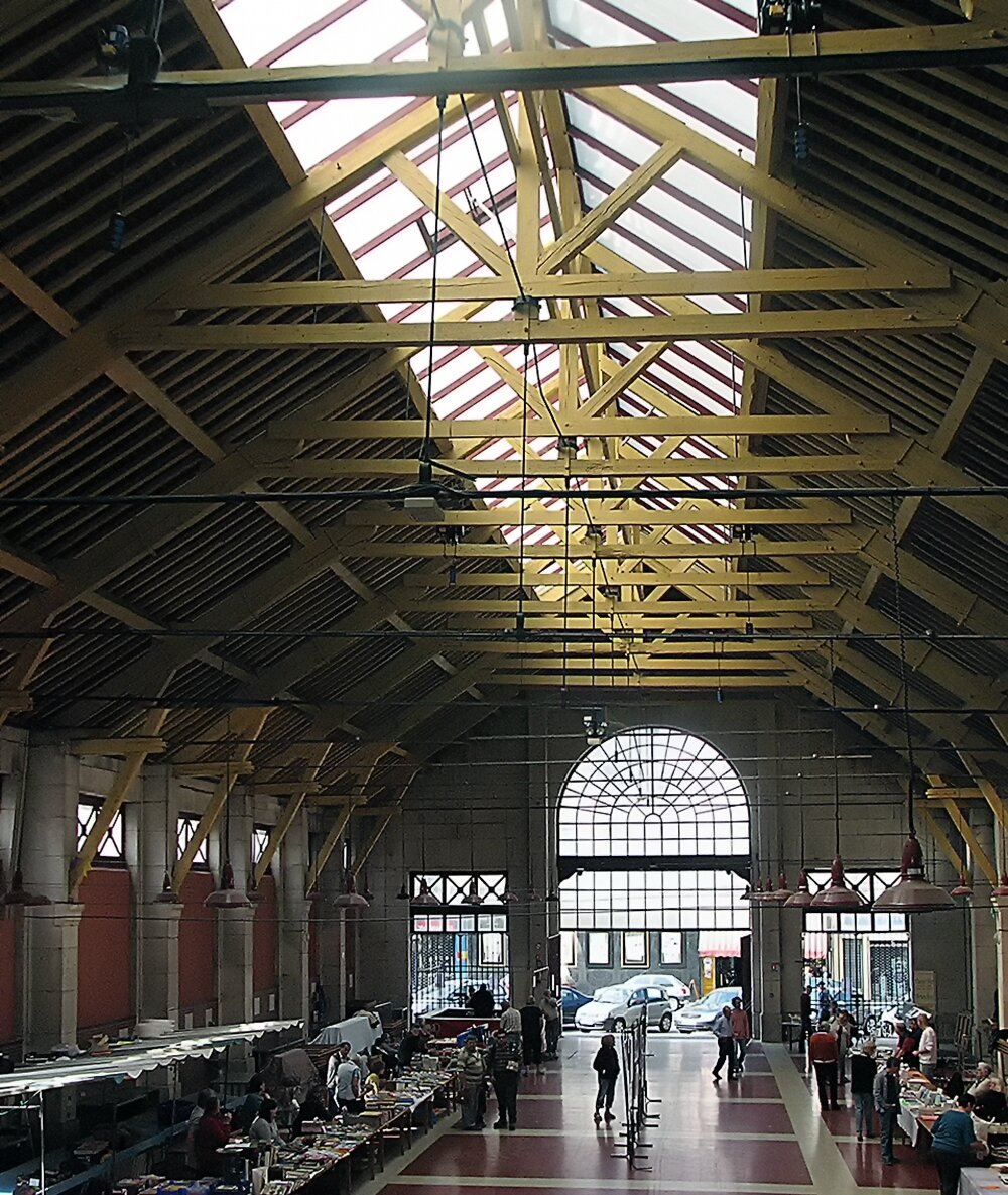 Halles de Bar-sur-Aube, vue d'ensemble