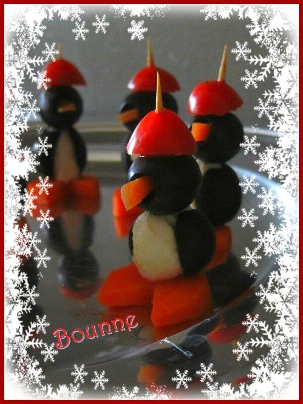Pingouins apéritif Noël (3)