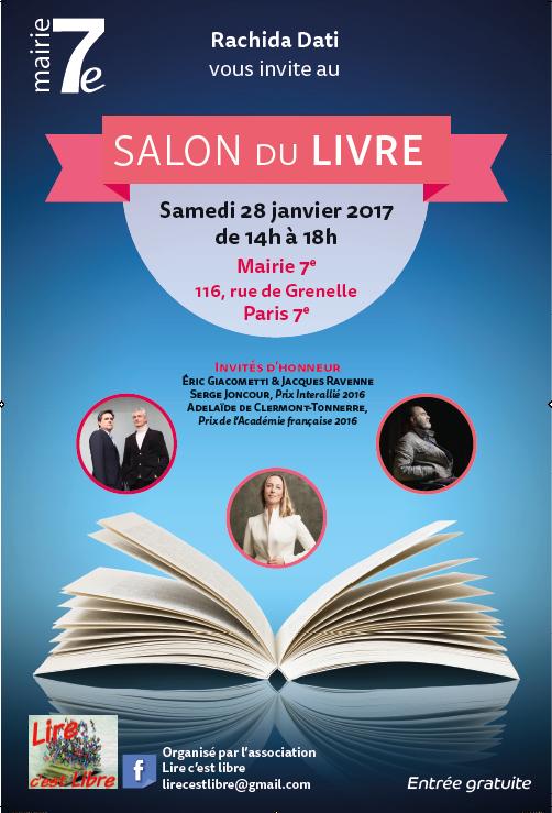 Affiche salon Lire C'est Libre 2017