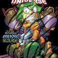 Sonic universe #29 en couverture