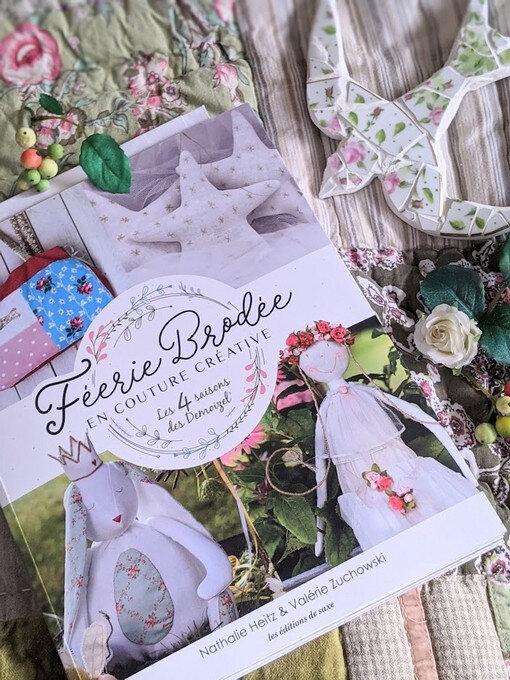 livre Demoizel' et cie Féerie brodée en couture créative- blog Marimerveille