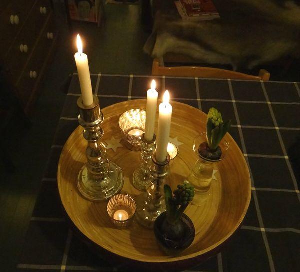 2012 12 bougies & jacinthes