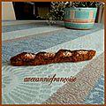 La baguette de pain, et autres bonnes choses à manger