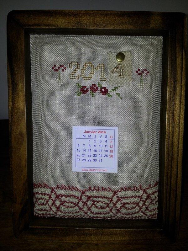Echange Hiver 2013 reçu de Sylvie