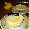 Minis cheesecakes au citron