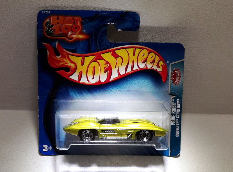 Chevrolet Corvette Stingray (Hotwheels)
