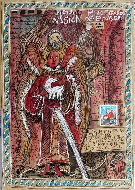 05 0154 Hildegarde de bingen par cecile carpena recto