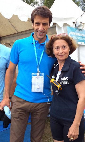 Maryse VISEUR et Tony Estanguet Pau 2017