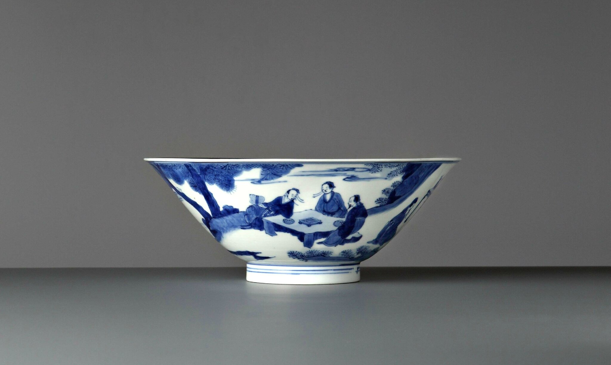 Conical Bowl, China, Kangxi period (1662 – 1722), circa 1700. Photo courtesy Vanderven Oriental Art.