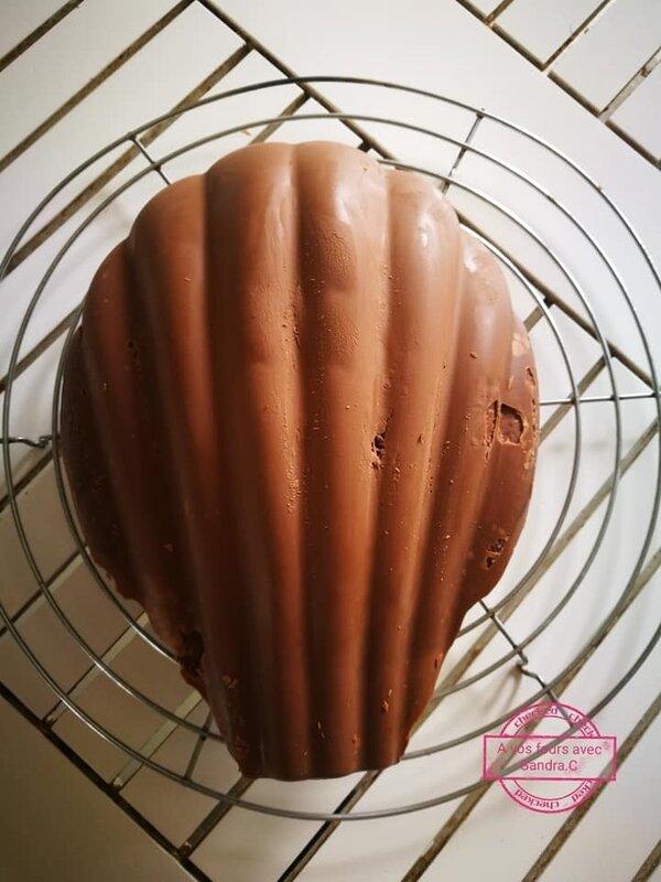 Madeleine géante au chocolat 3