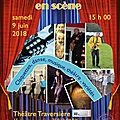 Tous au théâtre traversière le samedi 9 juin