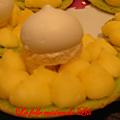 Tartelette à la pistache et sa crème au citron